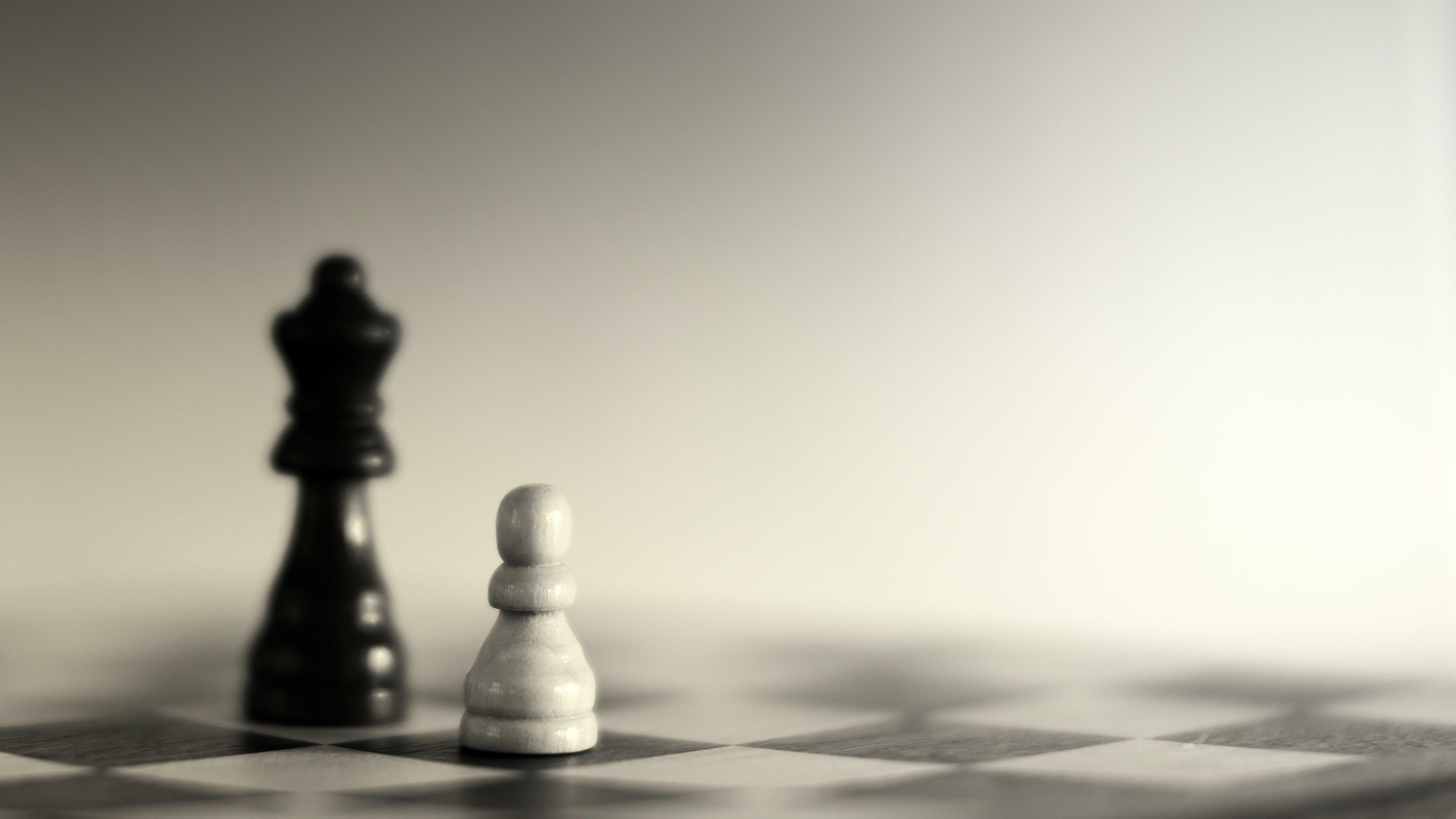 Kostenloses Stock Foto zu spiel, schach, brettspiel, nahansicht