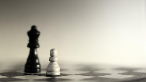 Foto d'estoc gratuïta de casa de préstecs, escacs, fons desenfocat, intel·ligència