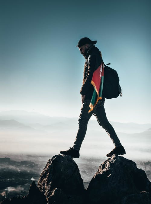 人, 健行, 冒險, 岩石 的 免费素材照片