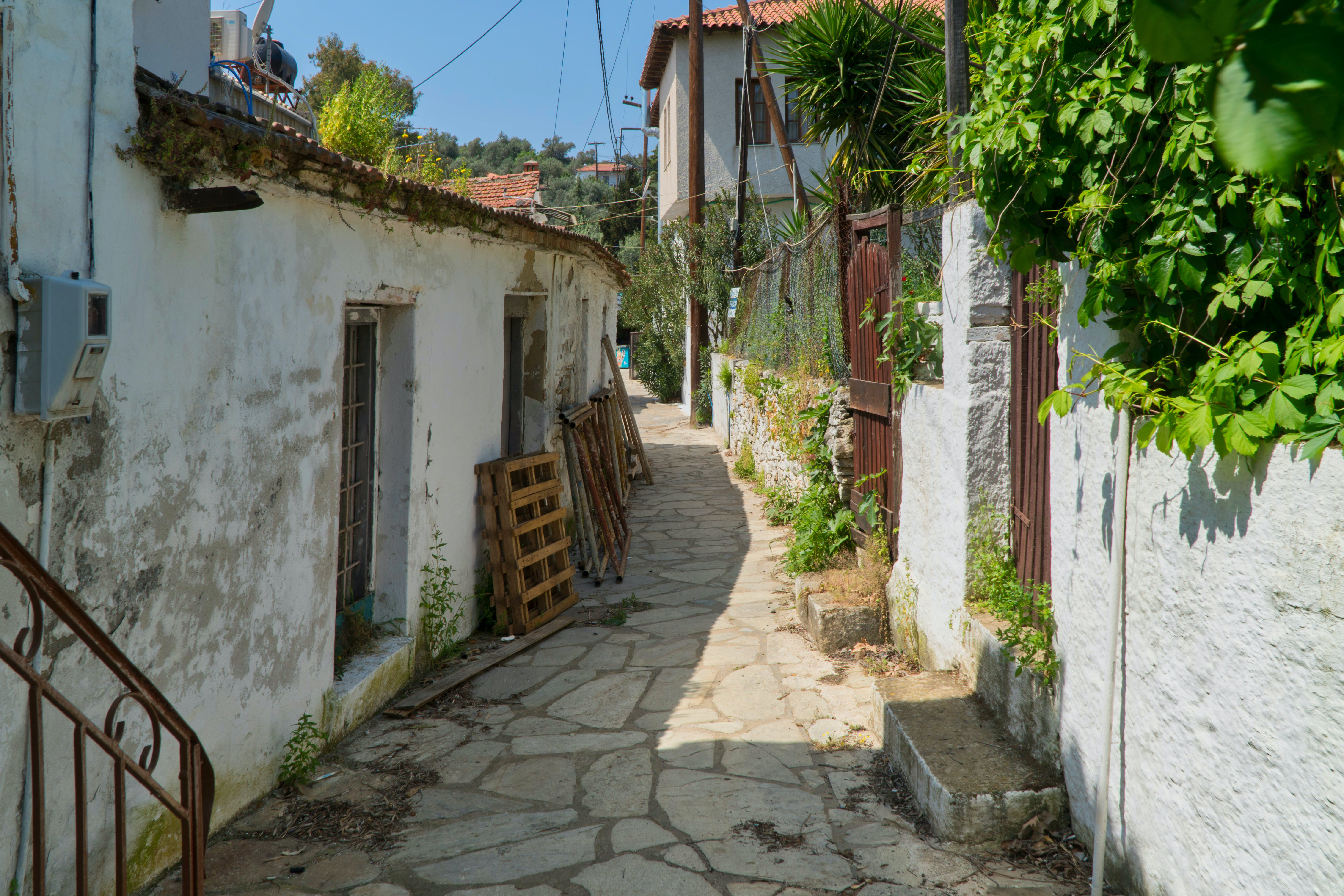 Free stock photo of alley, architecture, backstreet, backyards