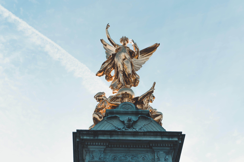 Angel Statue Under Blue Sky