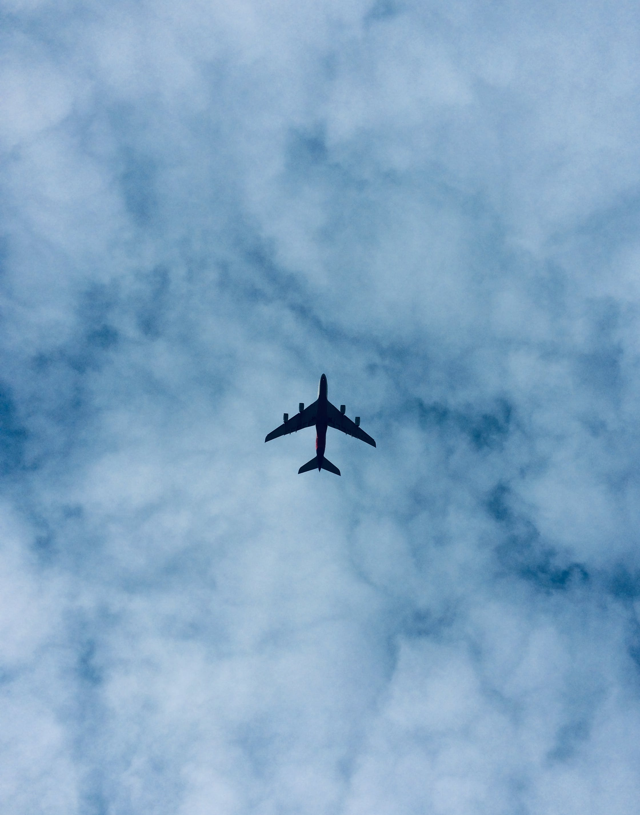 Silhouette of Airplane