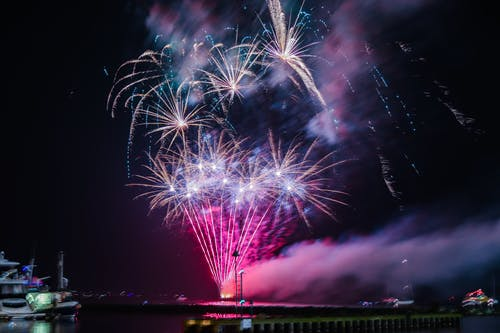Free stock photo of fireworks, fireworks display