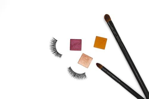 Gratis arkivbilde med #makeup #makeupbrushes