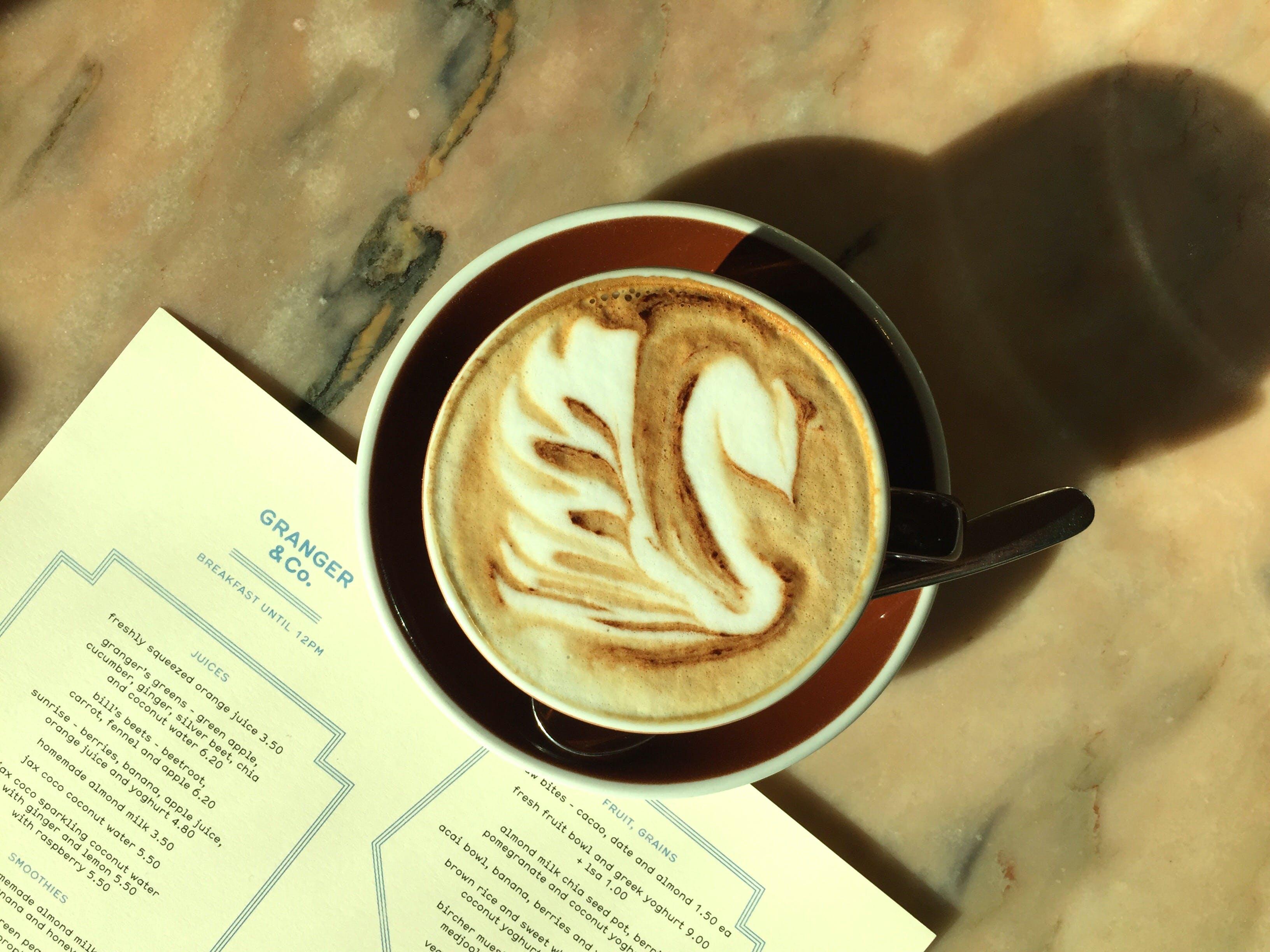 Free stock photo of bar cafe, brewed coffee, coffee, coffee cup
