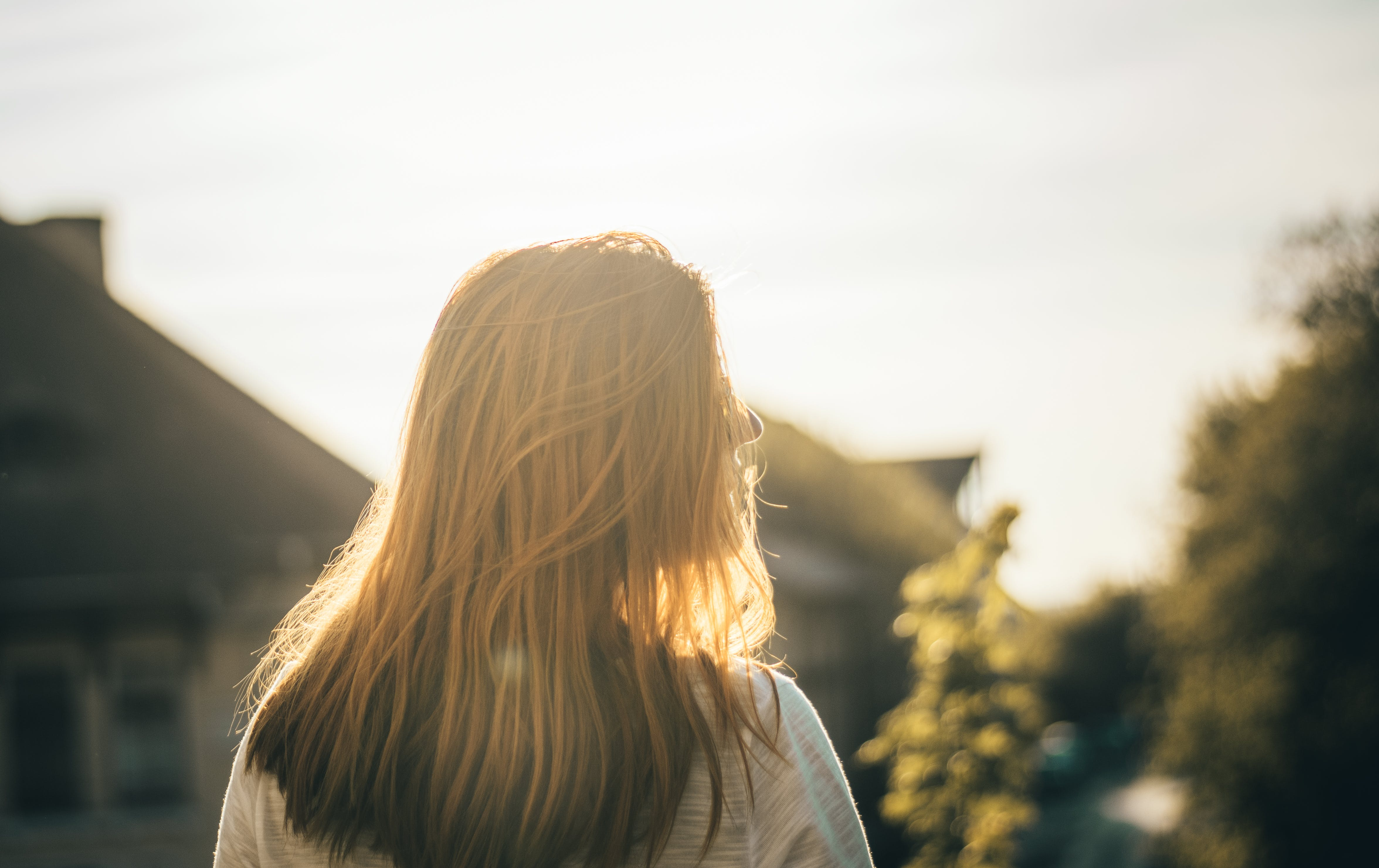 Close-Up Photo of Woman Facing Sideways
