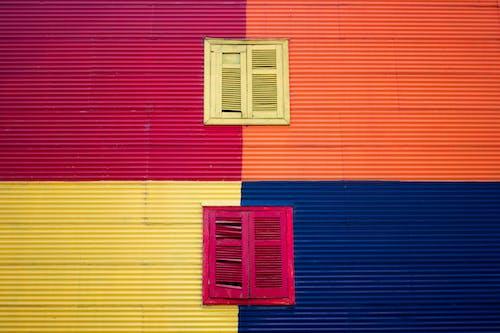 Photos gratuites de bâtiment, building, caminito, coloré