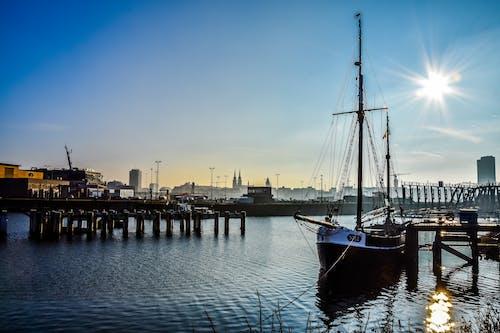Imagine de stoc gratuită din barcă, lângă apă, mare, peisaj
