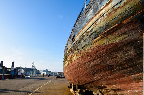 Imagine de stoc gratuită din abraziv, barcă, lângă apă, peisaj