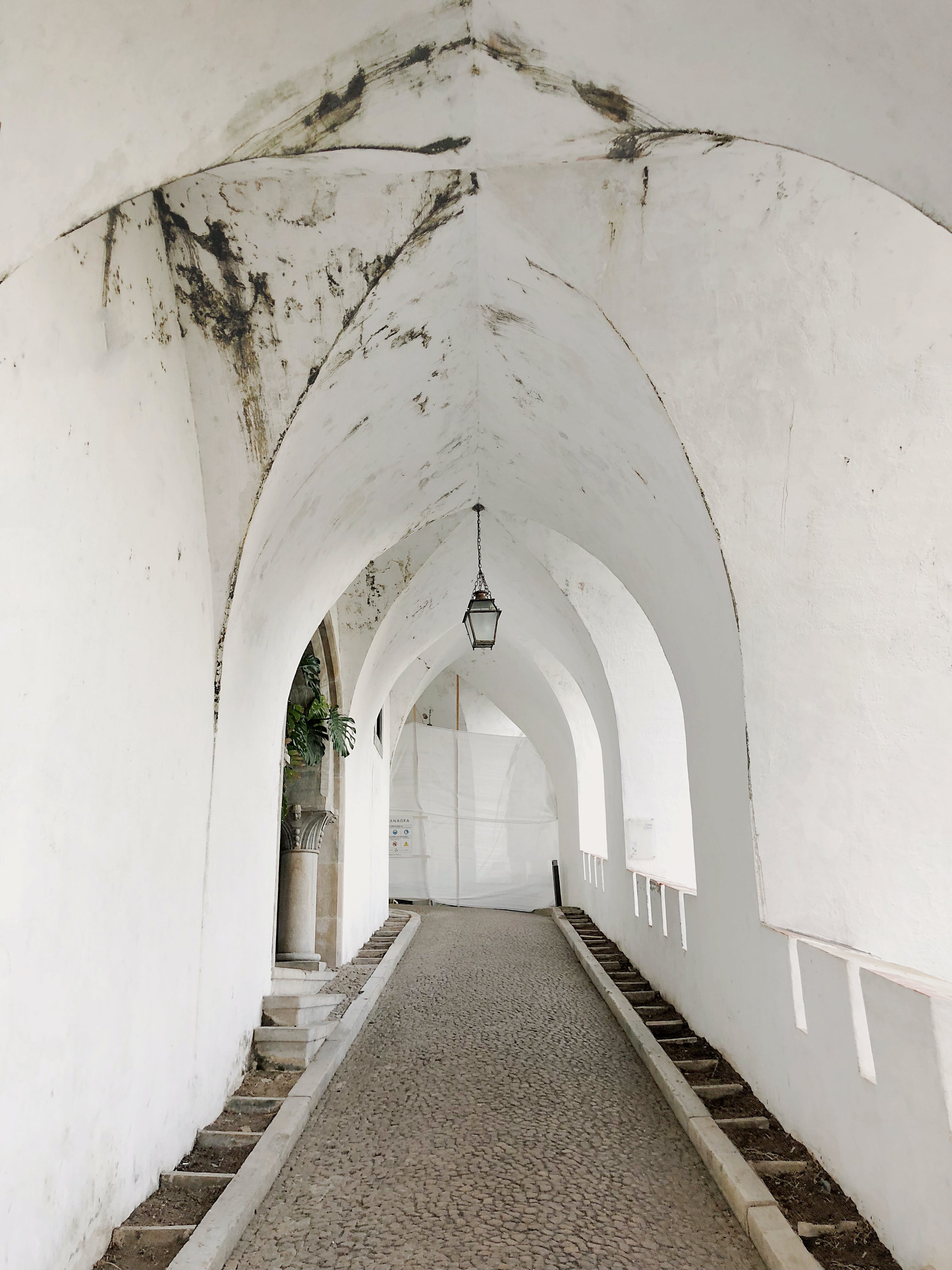 Free stock photo of building, architecture, arch, hallway