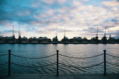 River Overlooking Dock