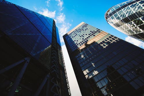 Free stock photo of blue sky, building, buildings, Cheese Grater building