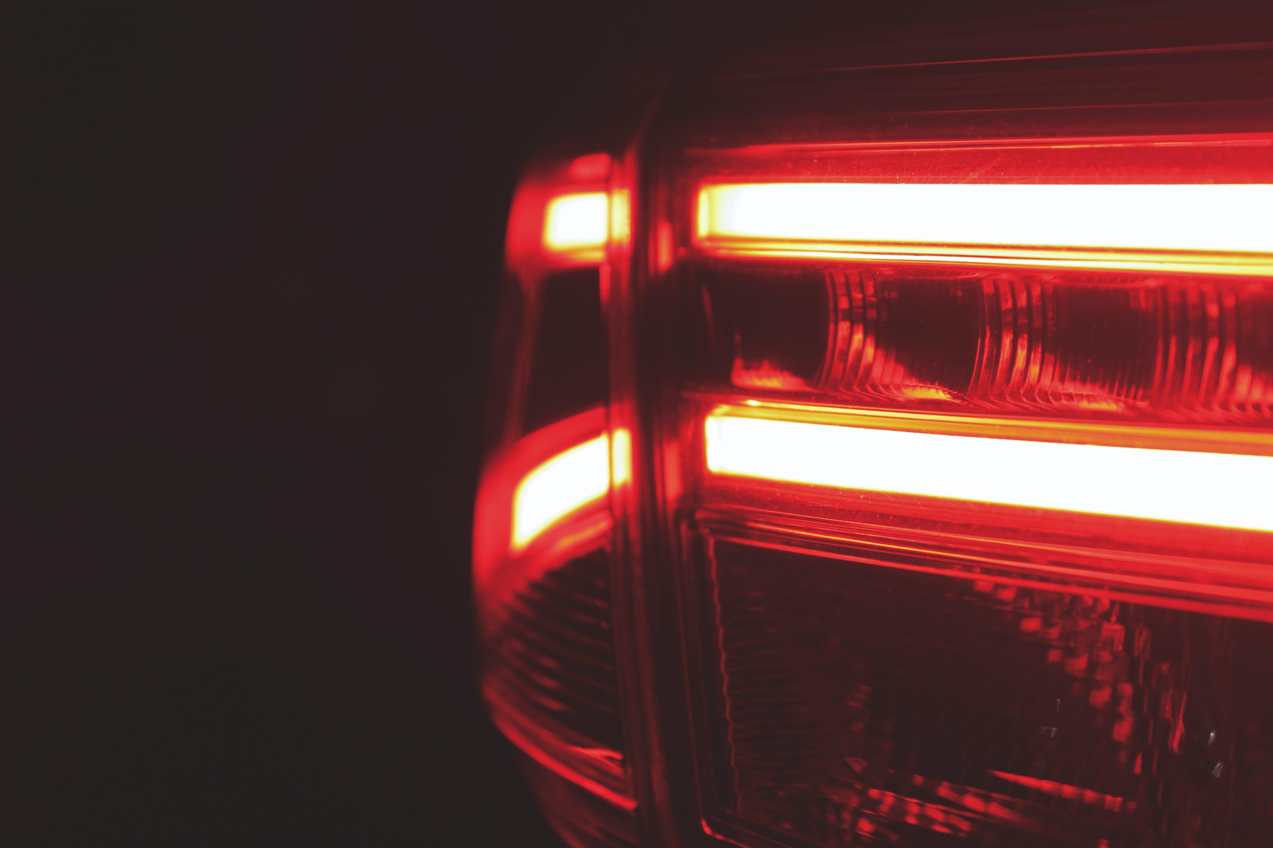 auto, back light, red light
