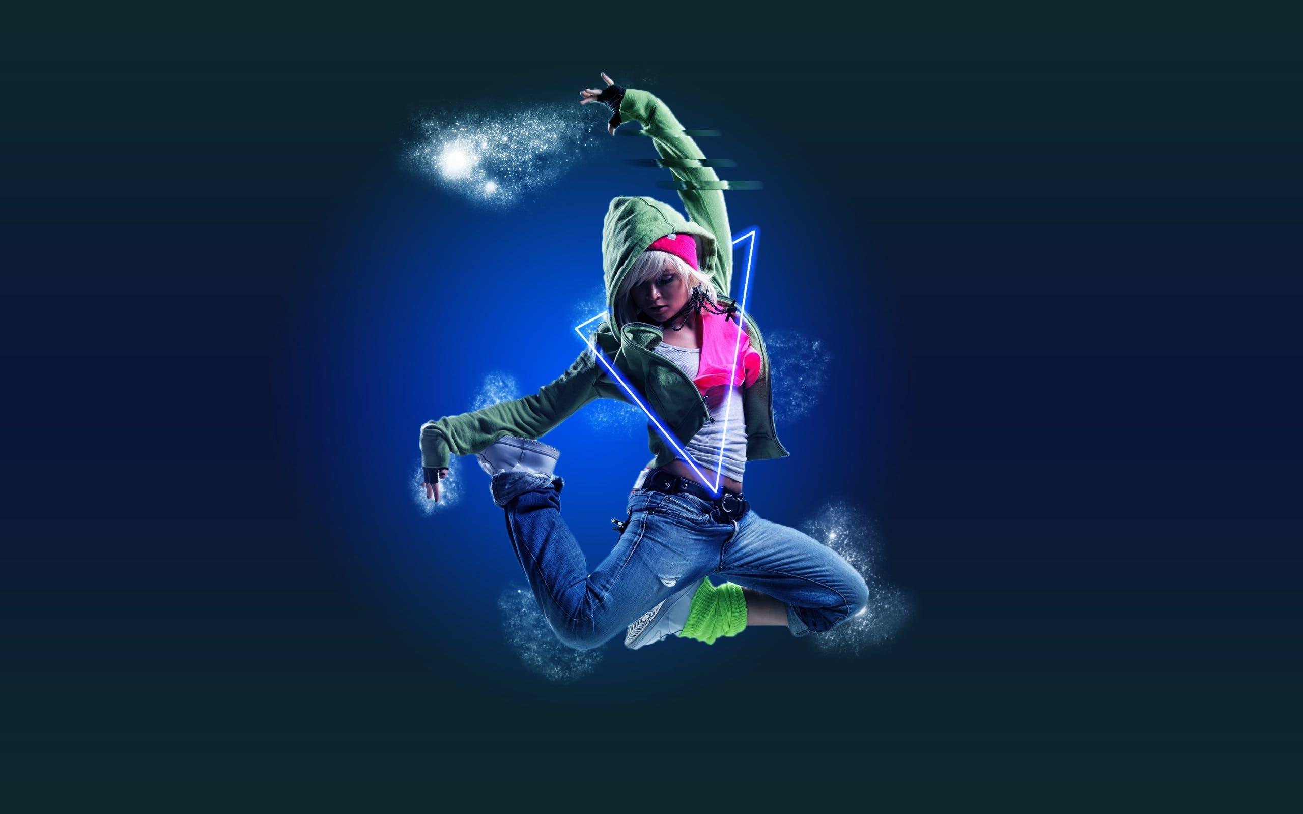 Free stock photo of fashion, girl, jump, teenager