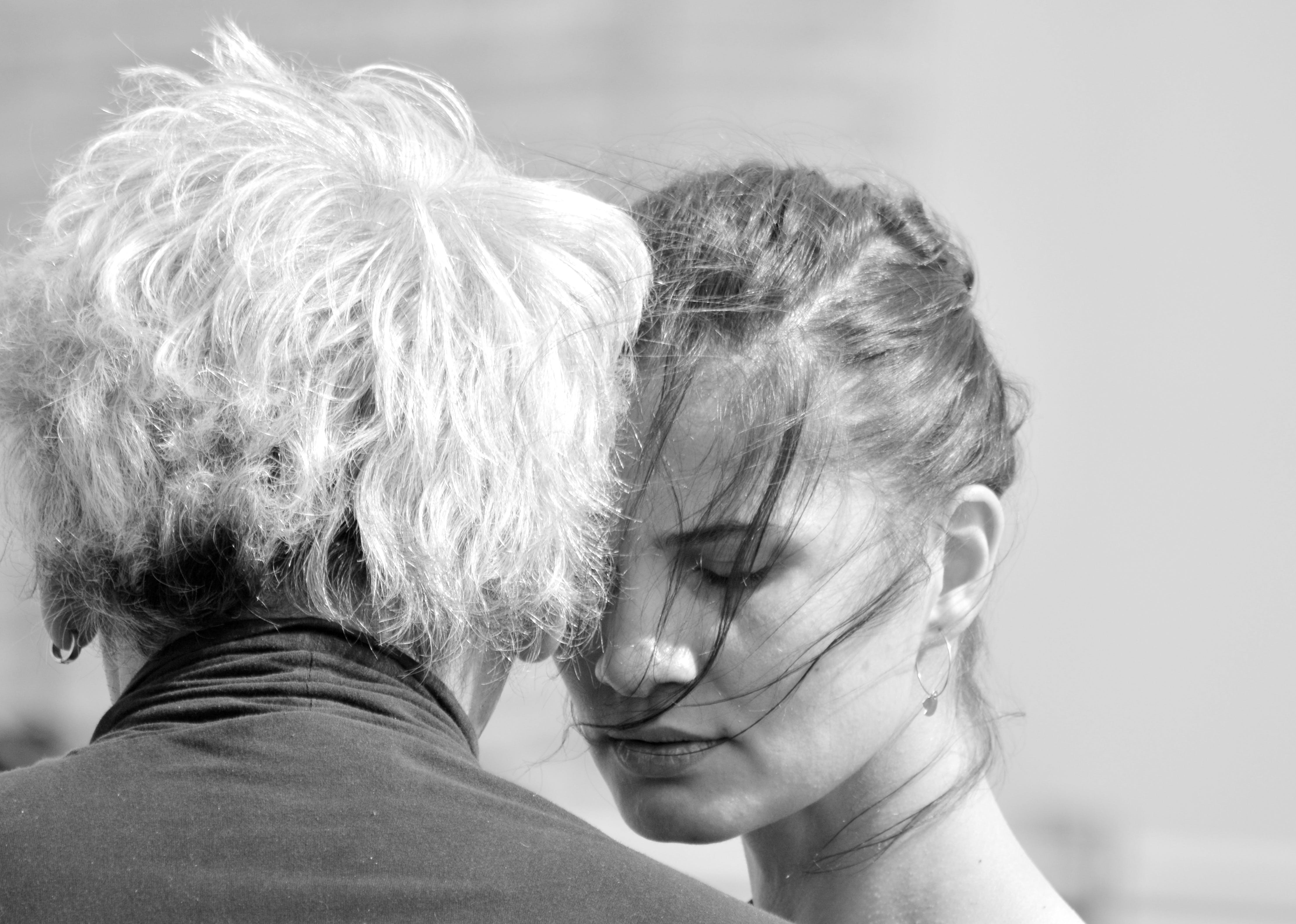Free stock photo of black-and-white, man, woman, dance