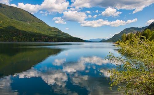 Бесплатное стоковое фото с белый, вода, высокий, голубой