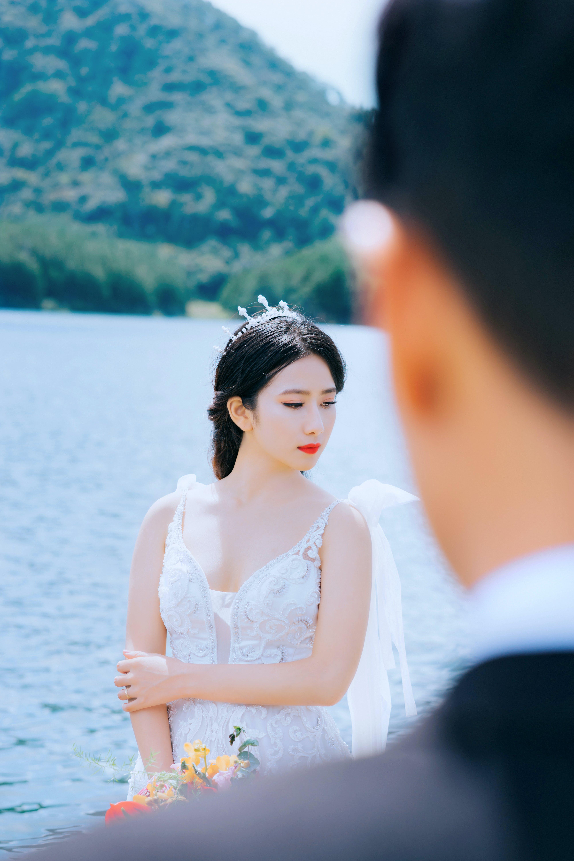 Free stock photo of prewedding