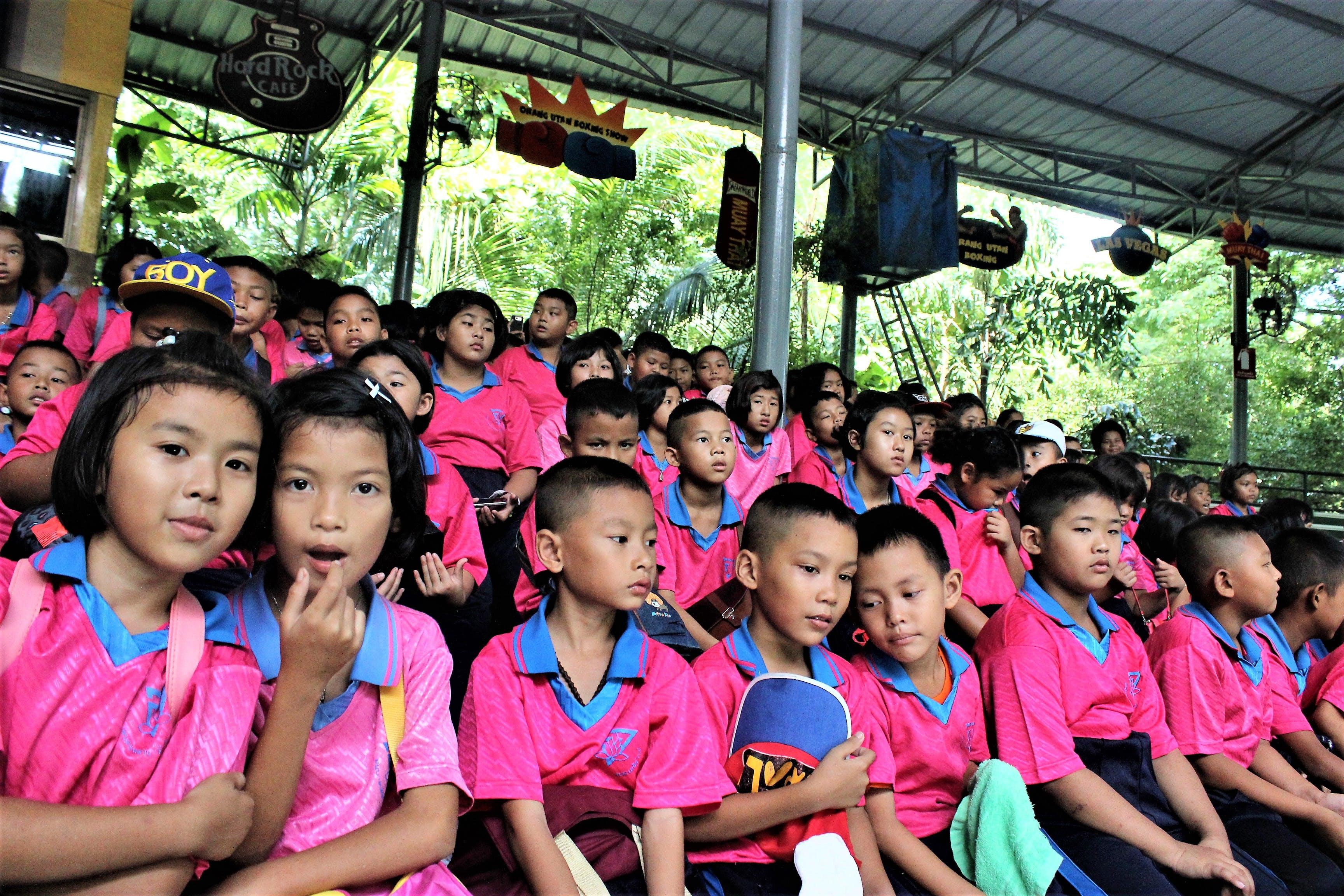 Free stock photo of Bangkok, candid, children, student