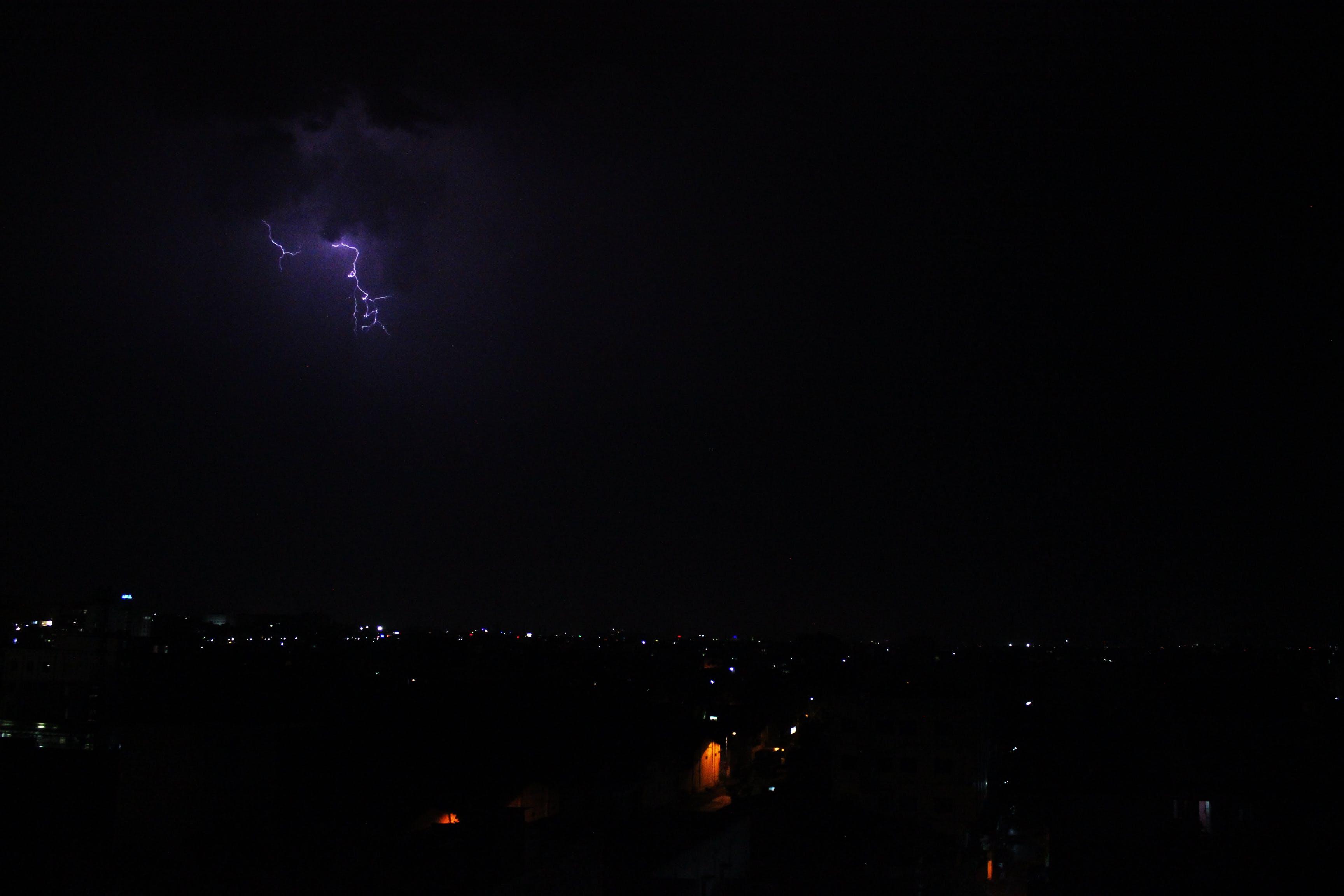 Free stock photo of city, lighning, lighting, night