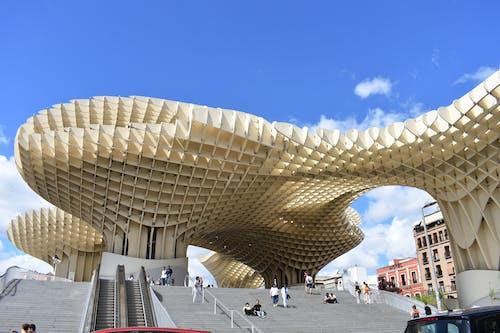 คลังภาพถ่ายฟรี ของ metropol parasol, การท่องเที่ยว, ตึก, สถาปัตยกรรม