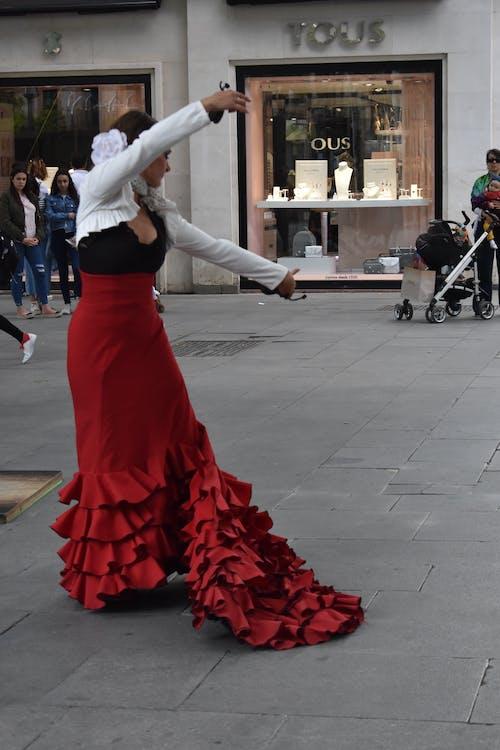 คลังภาพถ่ายฟรี ของ การท่องเที่ยว, ความรักใคร่, นักเต้น, ฟละแมนโก