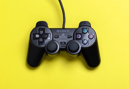 Black Sony Ps2 Dualshock 2