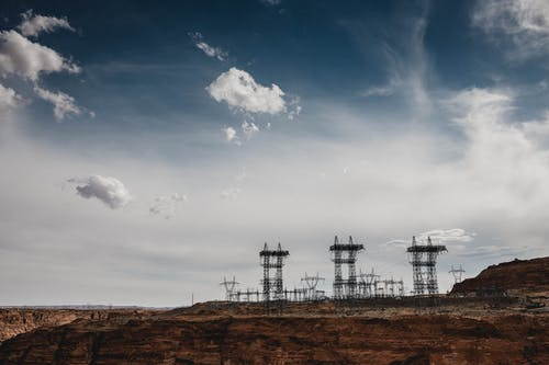 Gratis lagerfoto af arizona, dagslys, elkabler, himmel