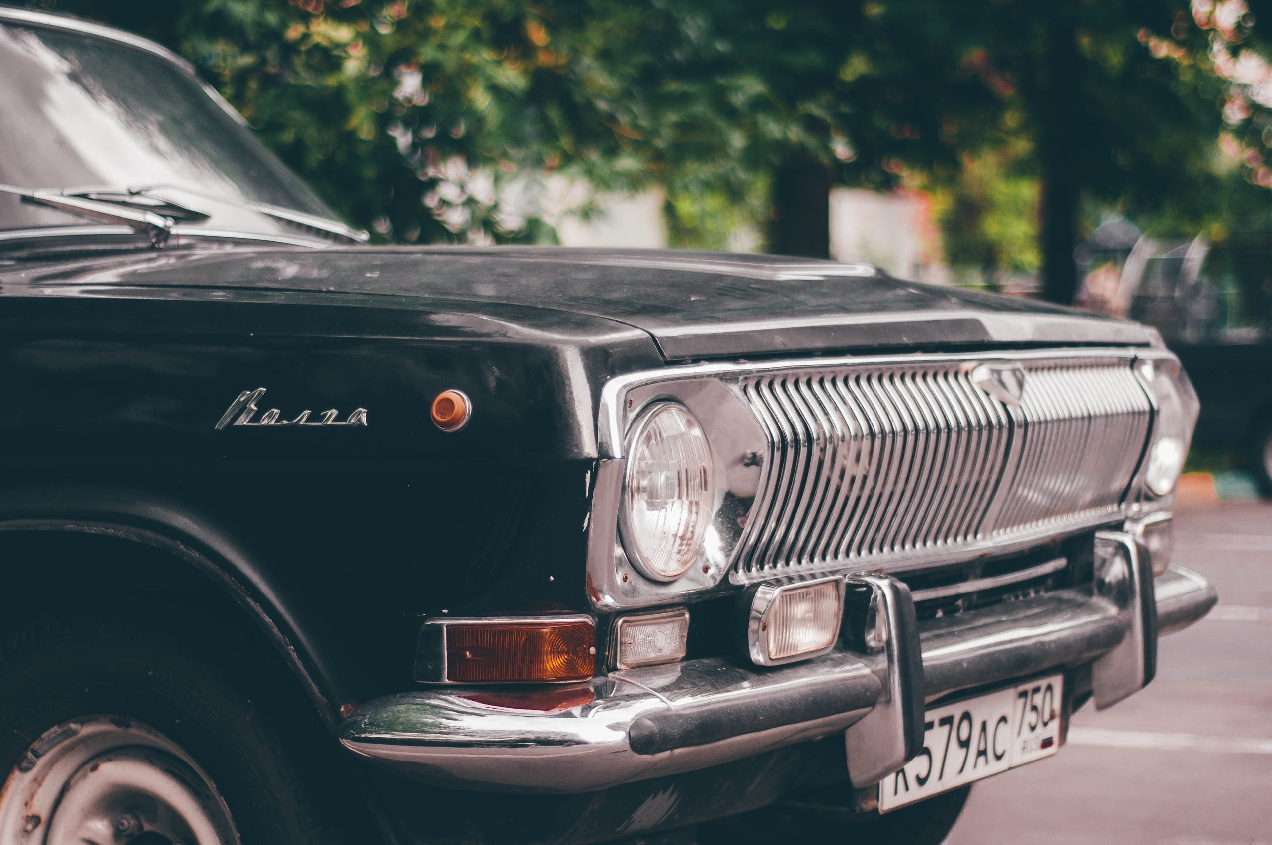 Free stock photo of car, vehicle, classic, hood