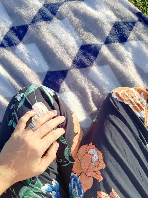 담요, 무릎, 소풍, 손의 무료 스톡 사진