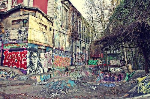 Kostenloses Stock Foto zu graffiti, stadtzentrum, straße