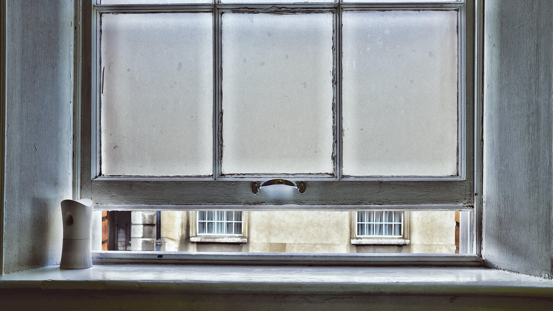 White Window Pane Illustration