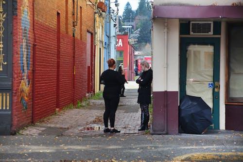 Imagine de stoc gratuită din femeie murală alei pe stradă