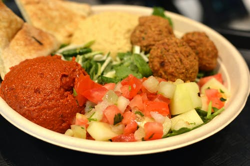 Free stock photo of colorful, mediterranean, meriterannean salad