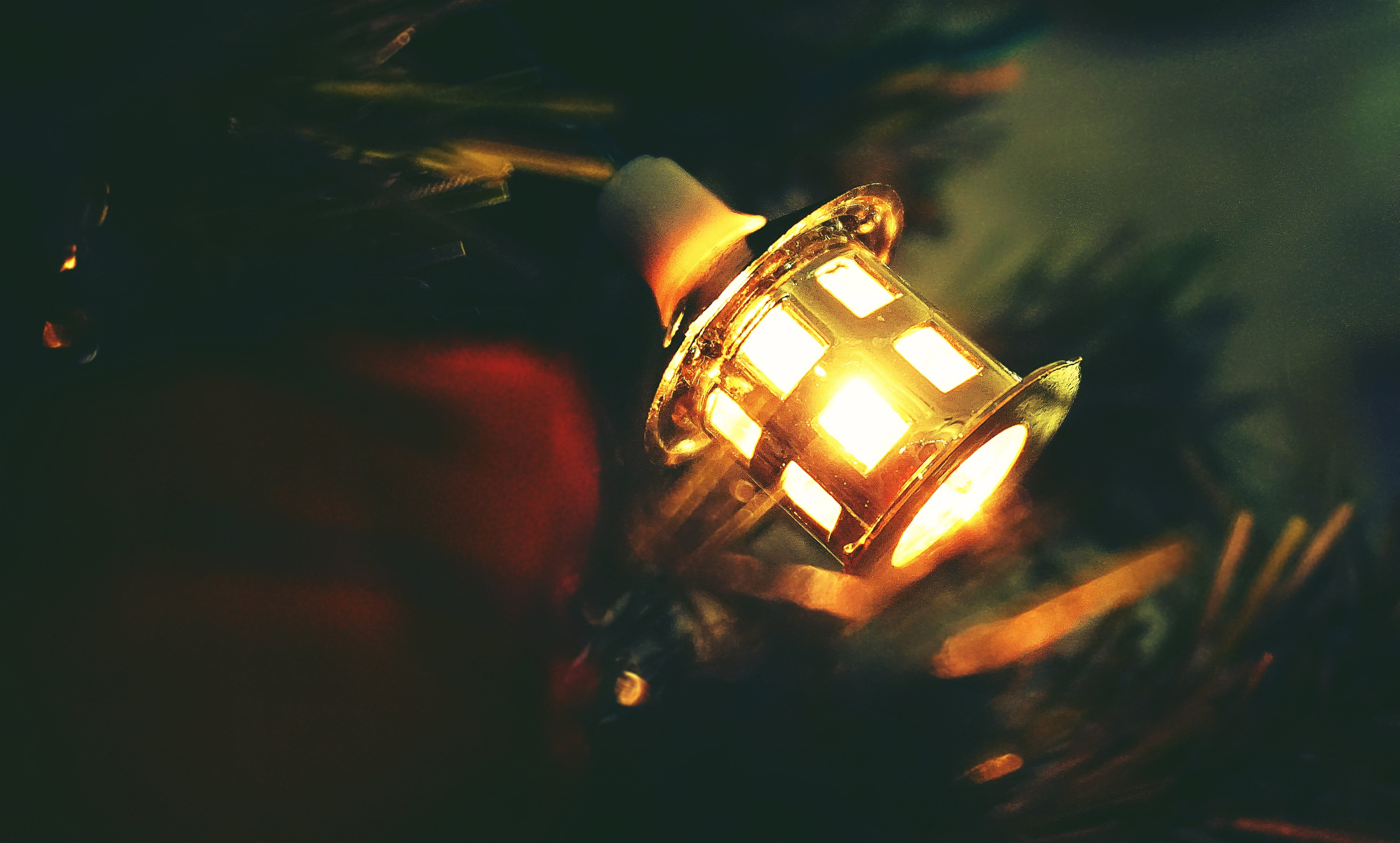 Free stock photo of lights, festive, vintage, close-up view