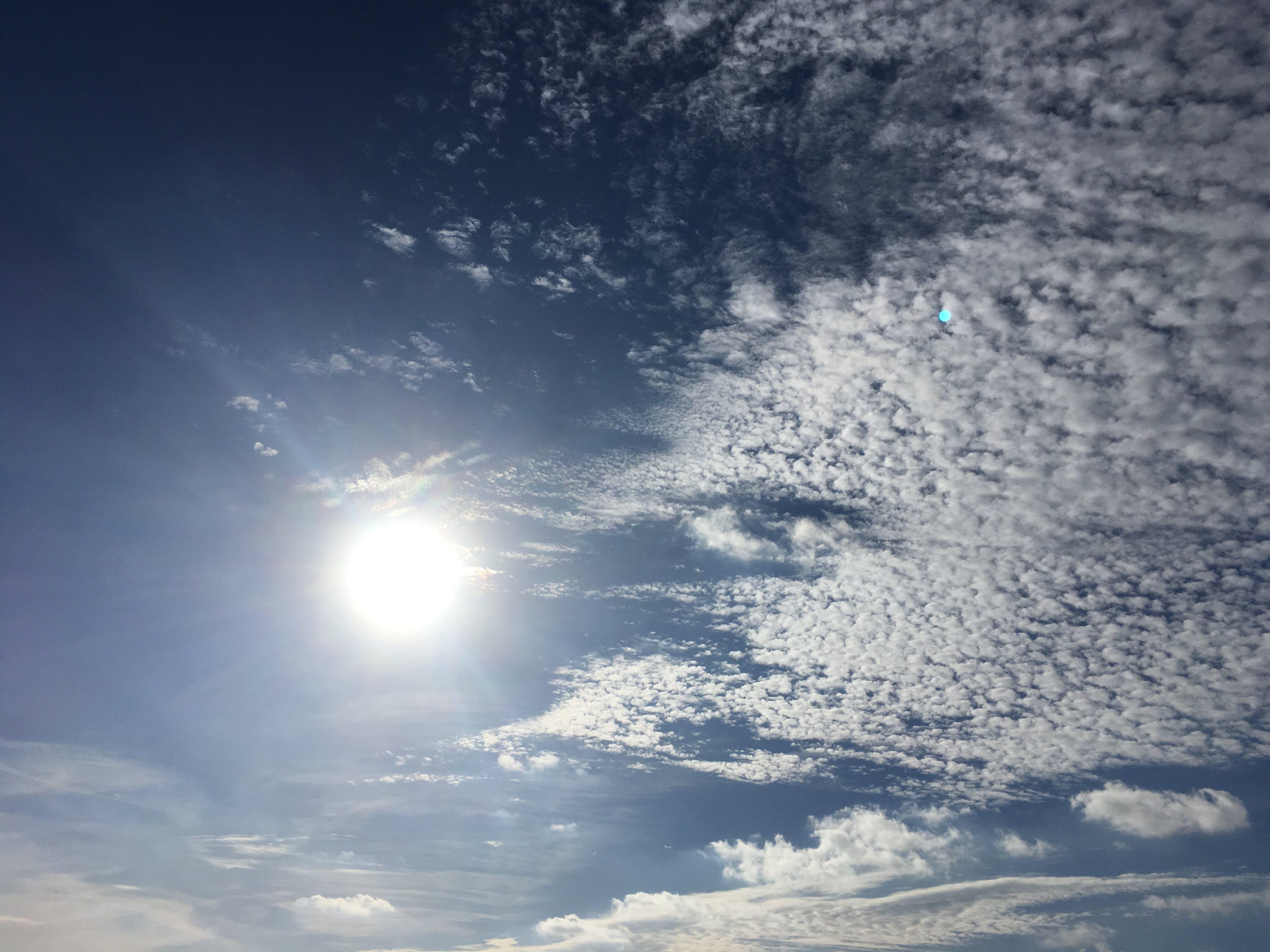 Free stock photo of blue sky