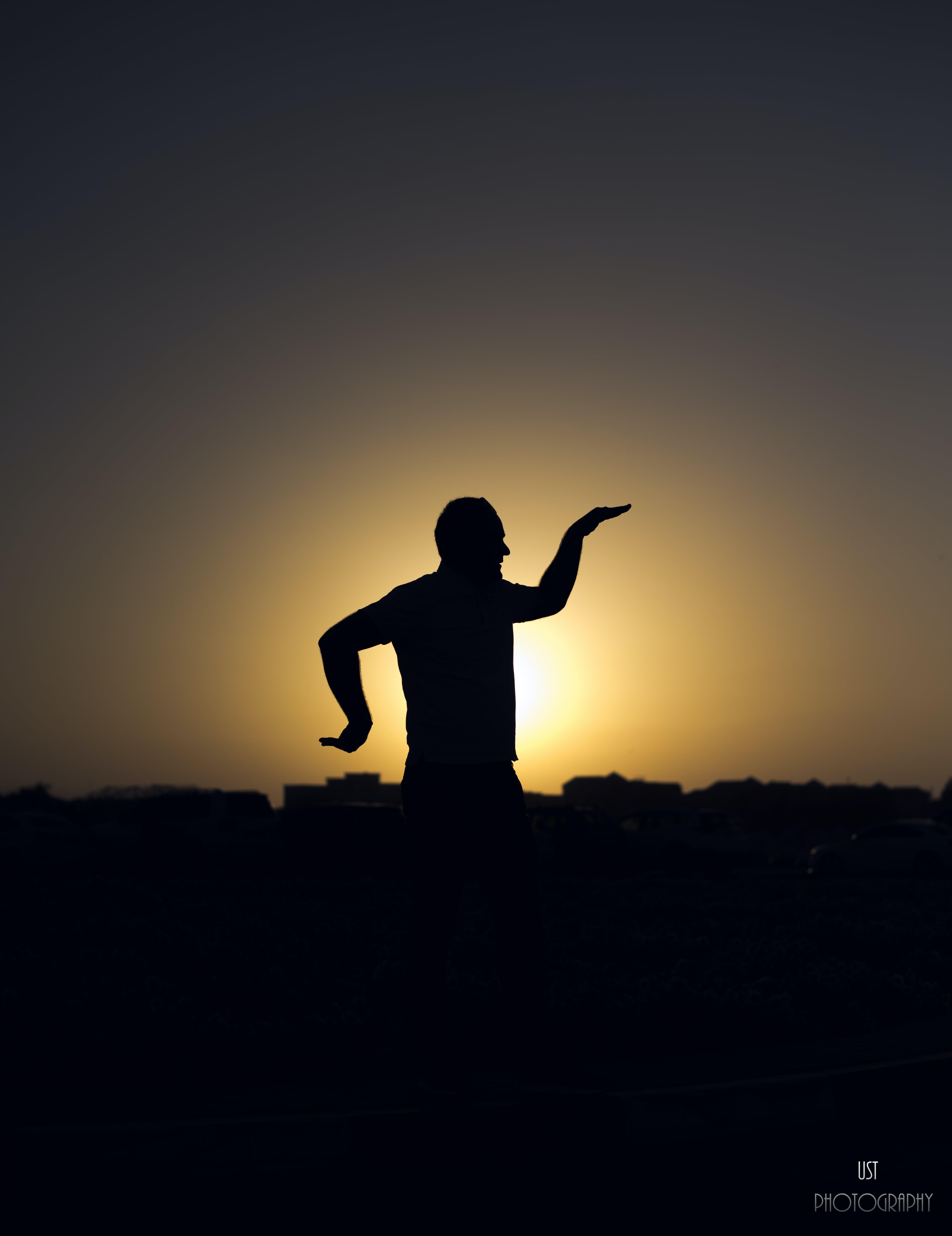 Δωρεάν στοκ φωτογραφιών με δύση του ηλίου, σιλουέτα, στυλ