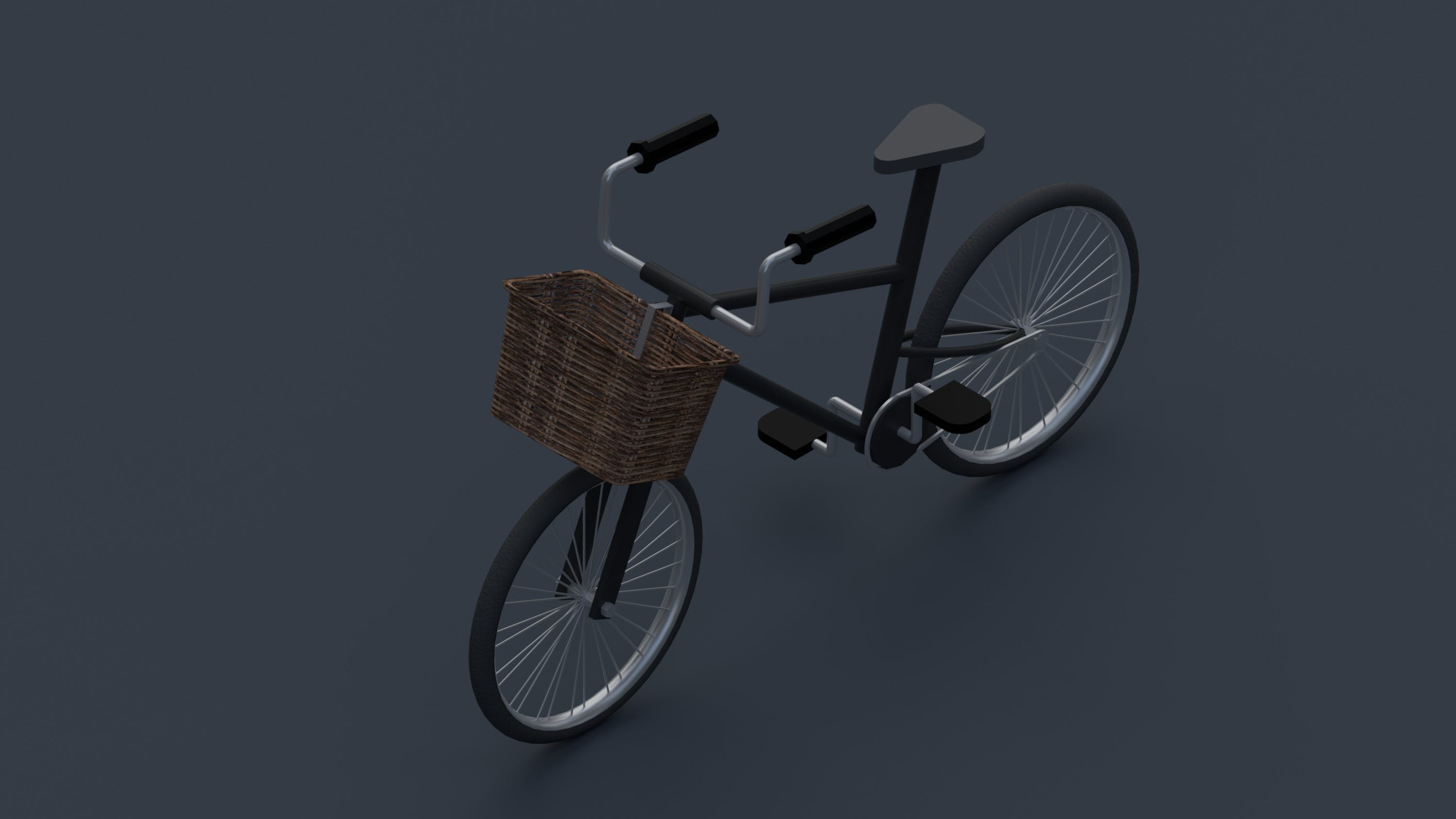 Free stock photo of 3d, basket, bicycle, toy