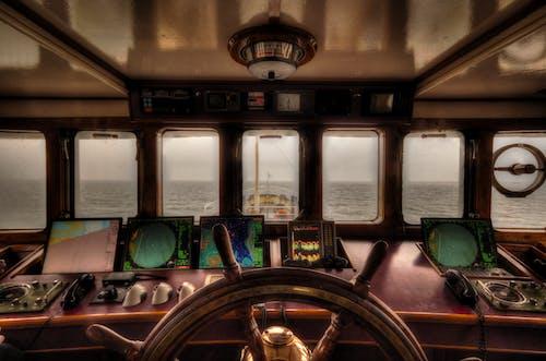 Gratis stockfoto met boot, hoge dynamische afstand, oceaan, roer