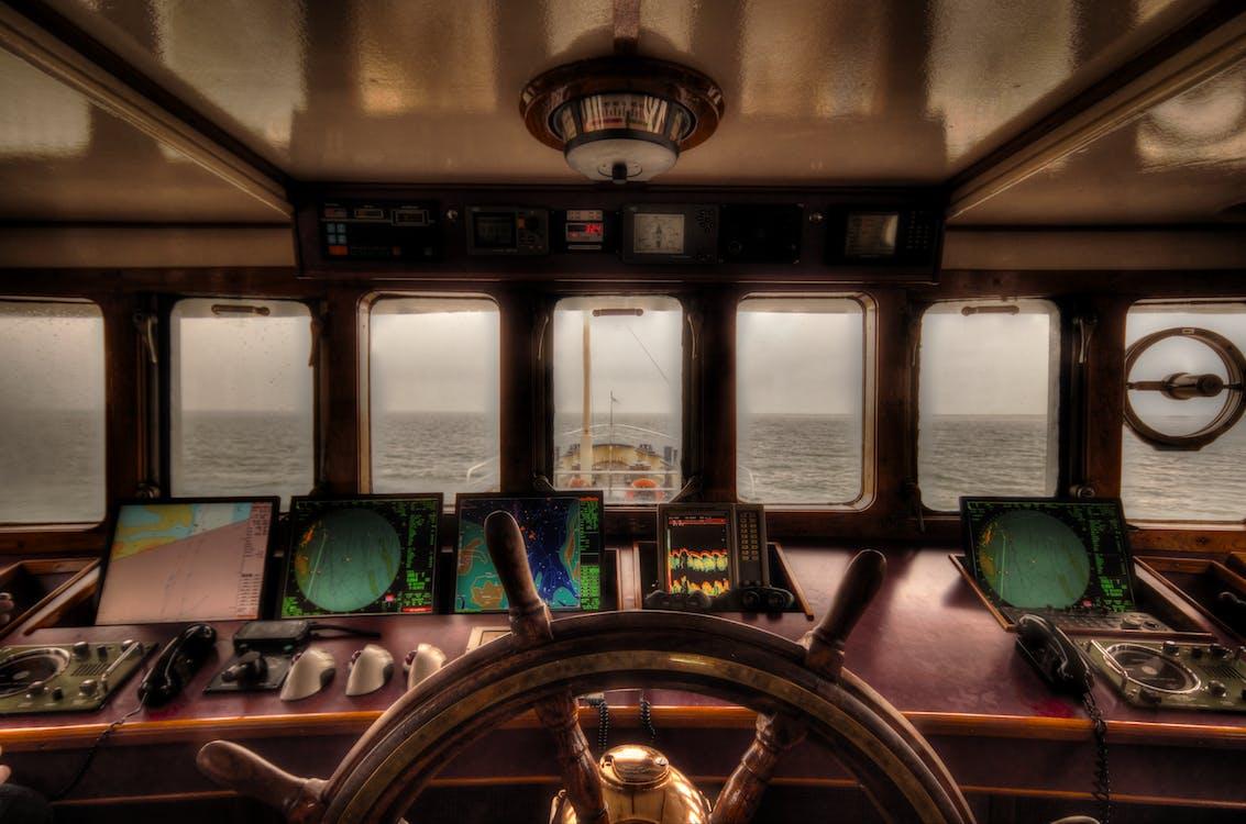 Brown Ship Helm