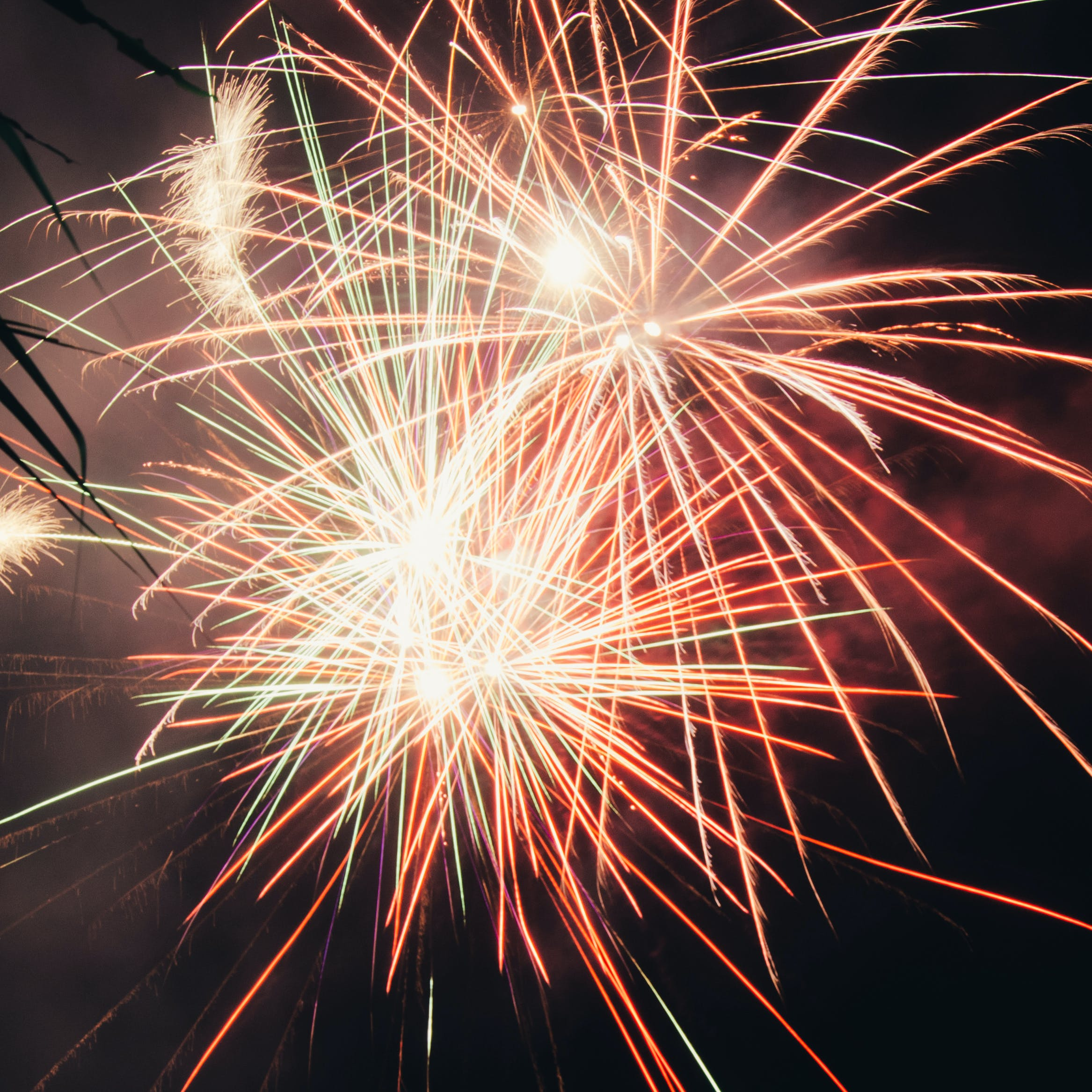 Free stock photo of abstract, coloured, fireworks