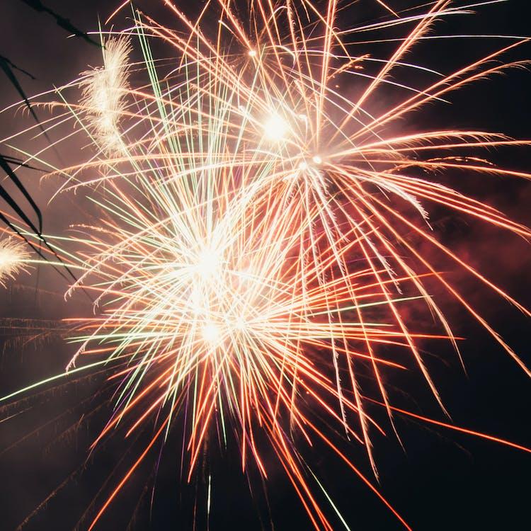 Fotos de stock gratuitas de colorido, de colores, fuegos artificiales
