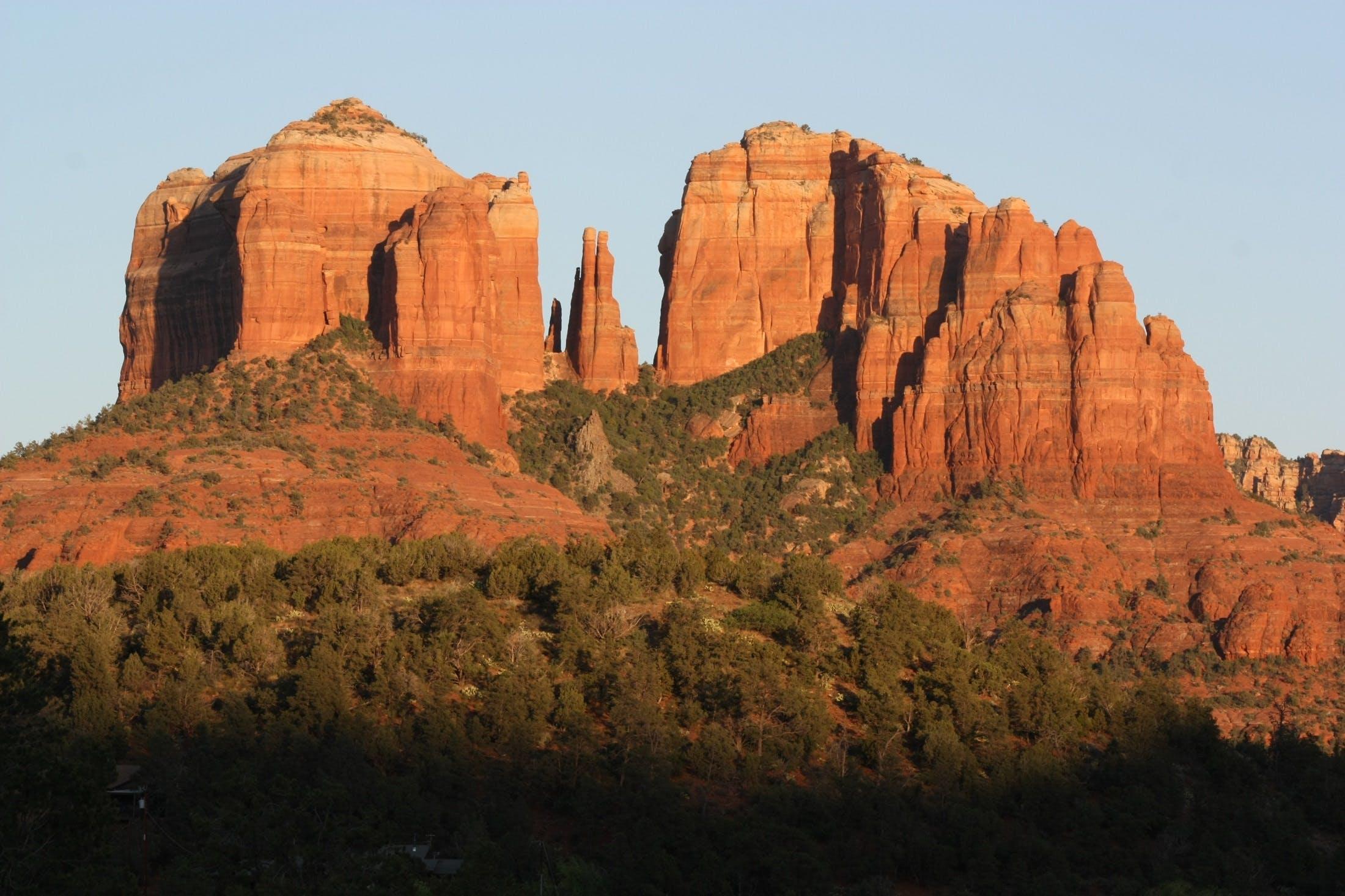 Rocky Mountain Under Clear Sky during Daytiem