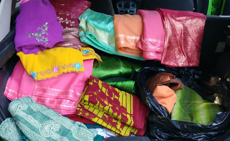 Free stock photo of fabric, saree, SARI, vintage
