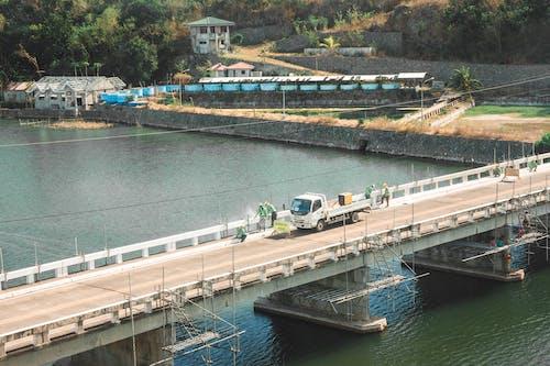 Gratis lagerfoto af arbejdstagere, bro, bro konstruktion, byggeri