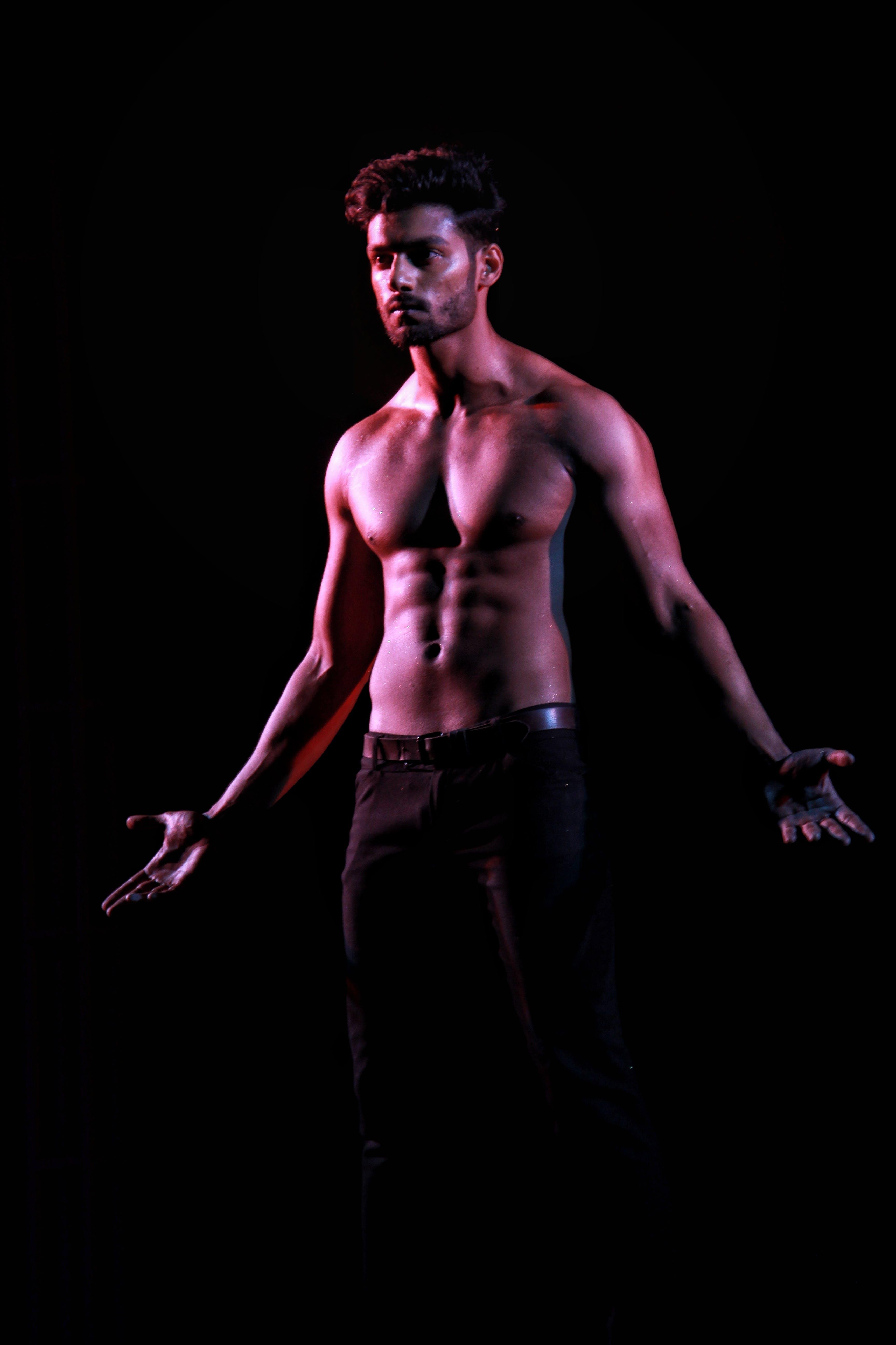 คลังภาพถ่ายฟรี ของ กล้ามเนื้อ, คน, นางแบบ, ผู้ชาย