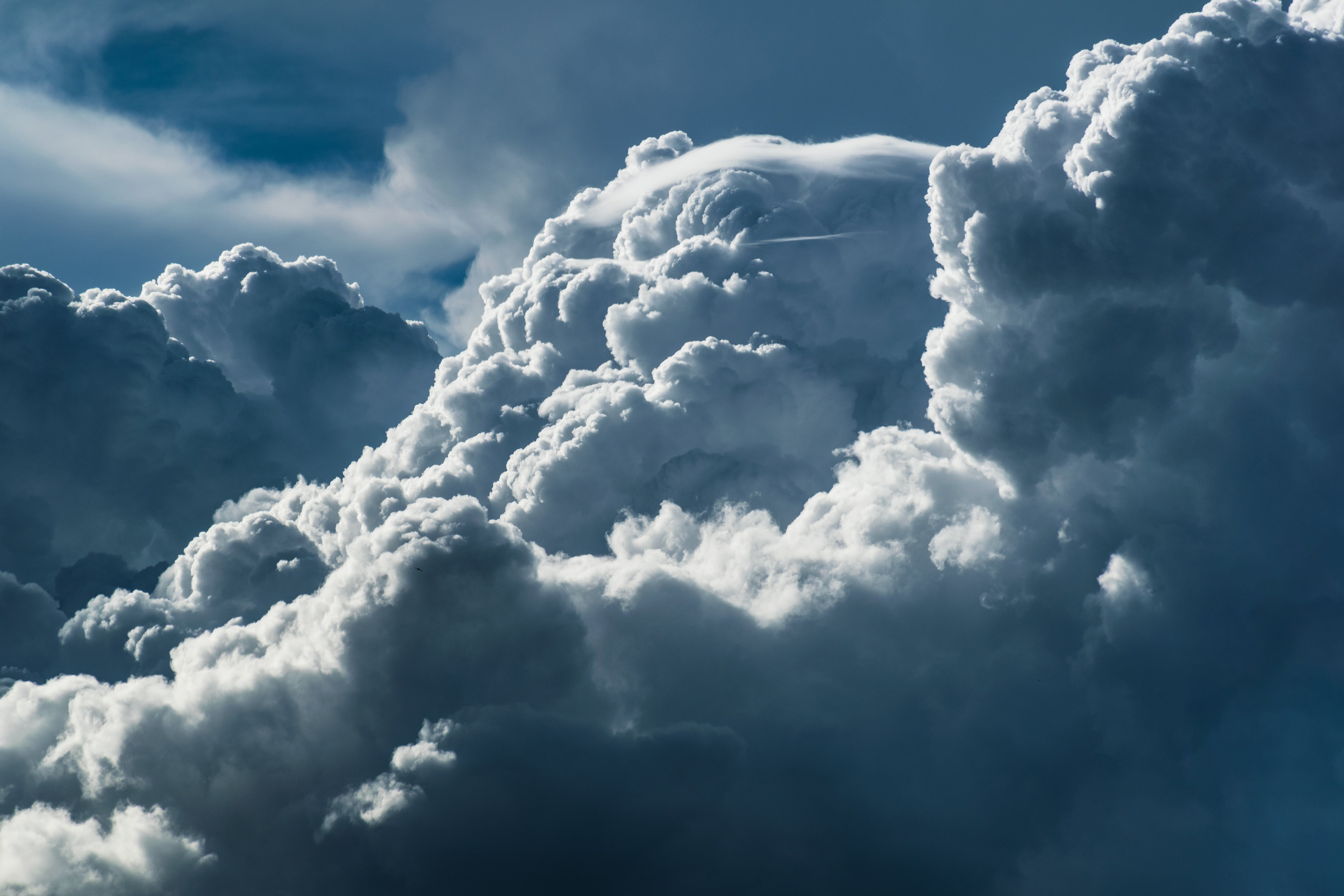 White and Gray Cloud