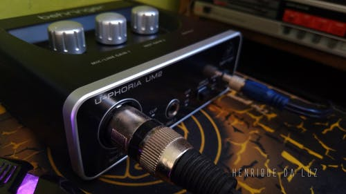 Free stock photo of behringer, devide, radio, sound