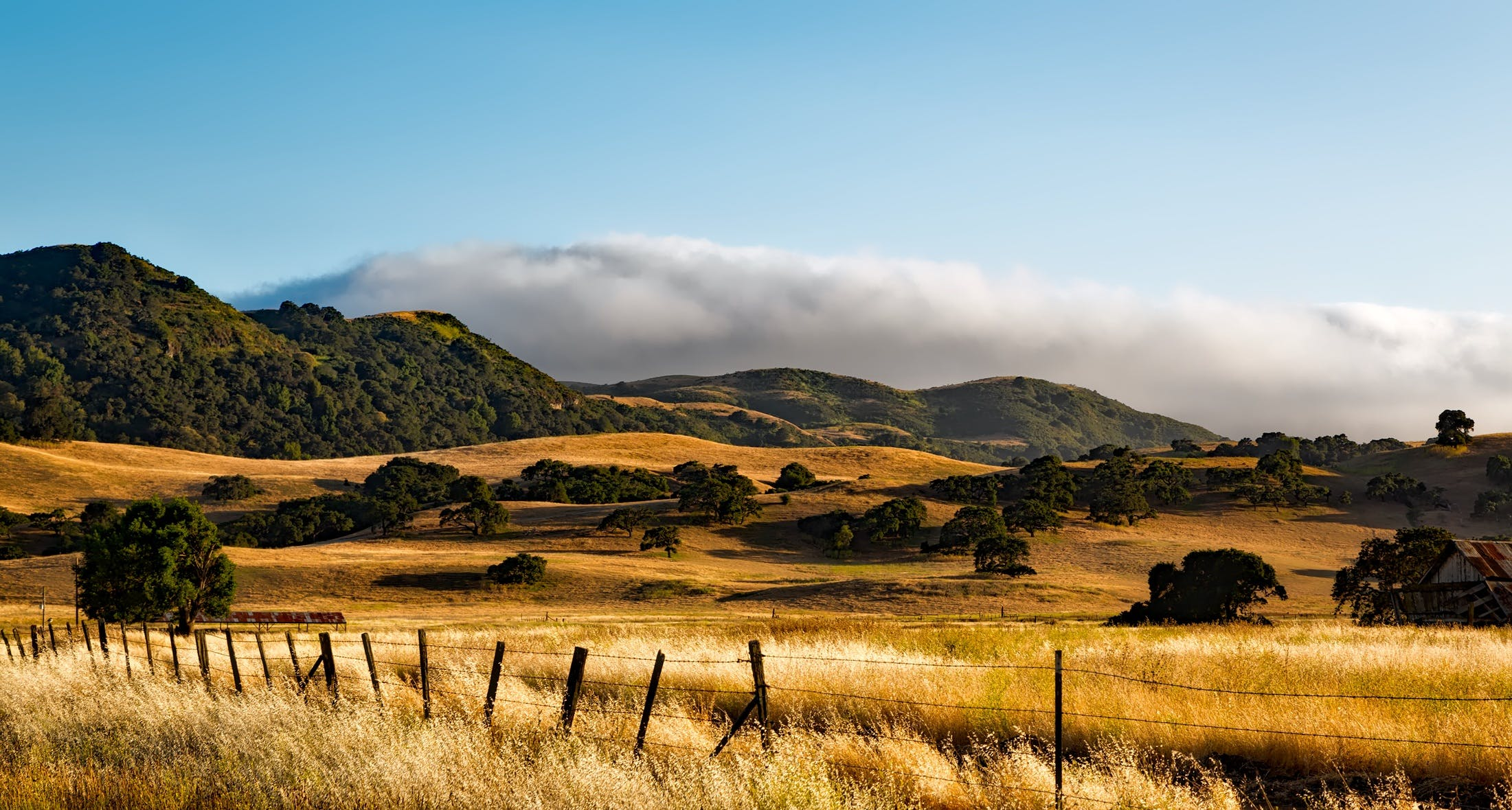 Kostenloses Stock Foto zu landschaft, berge, wolken, feld