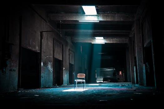 abandonne brise casse chaise