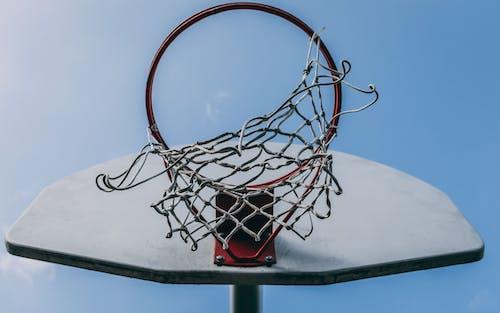 ağ, Basket potası, dar açılı fotoğraf, dinlenme içeren Ücretsiz stok fotoğraf